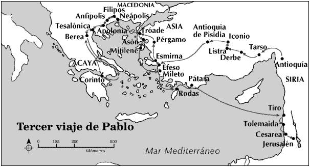 San pablo p gina 2 bienvenido a el teologillo for Cuarto viaje de pablo