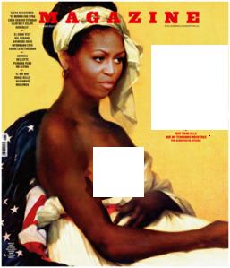 La polémica desnudez de Michelle Obama - Fuera de