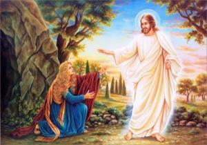 aparicion de Jesus a Magdalena