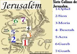 siete colinas de jerusalen