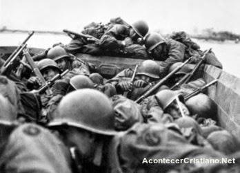 Soldados americanos en la segunda guerra mundial