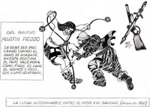 dibujos del papi- martin fierro-argentina