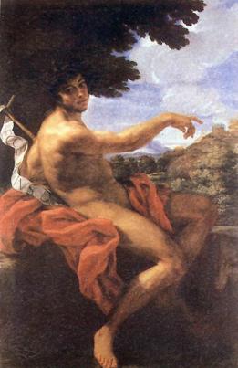 San Juan Bautista, de el Baciccio